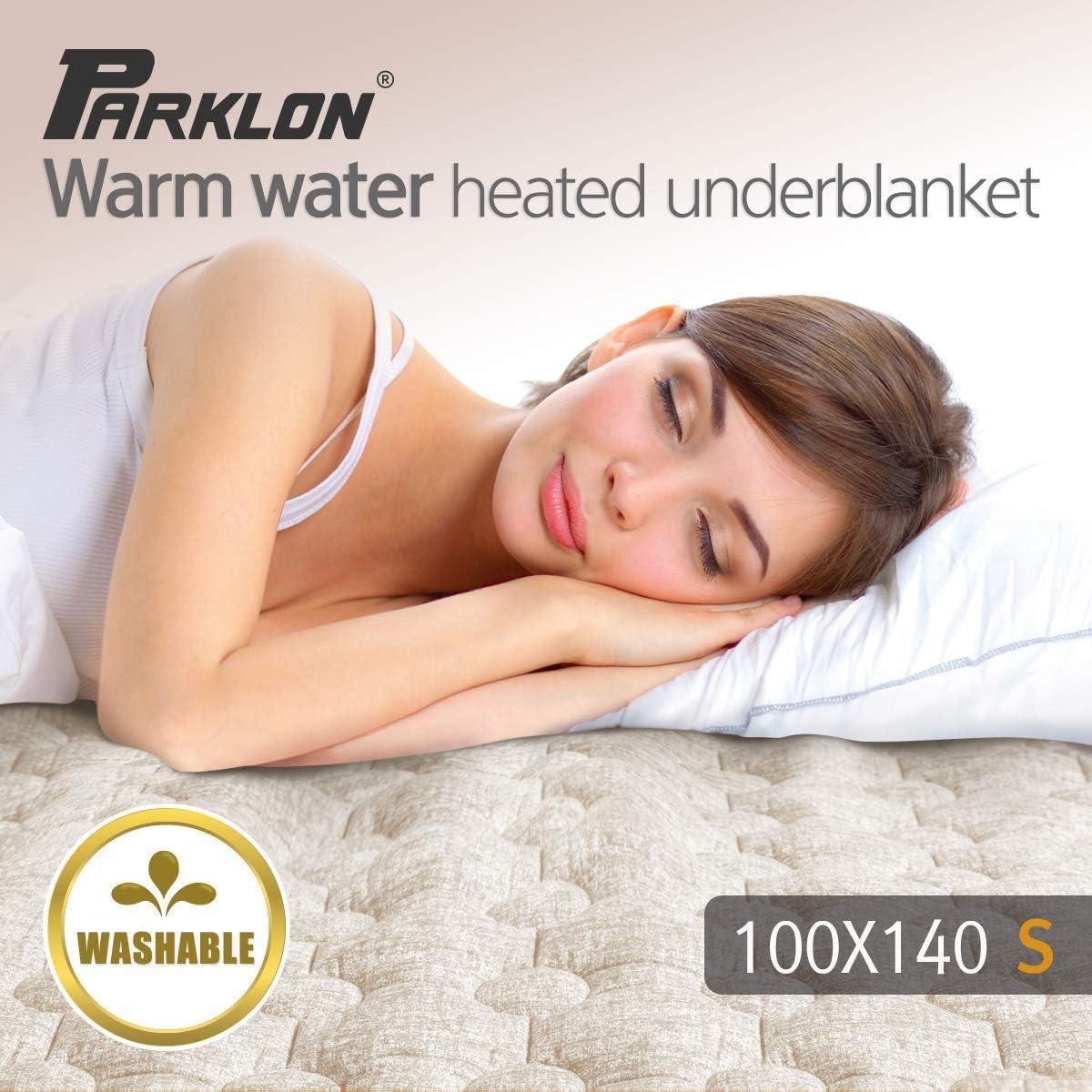 Parklon Washable Warm Water Heated Underblanket_Fabric Beige (Single)