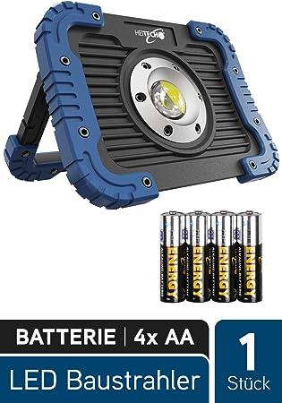 HEITECH LED Focos 5W - Lámpara de taller con 450 lúmenes, COB LED ...