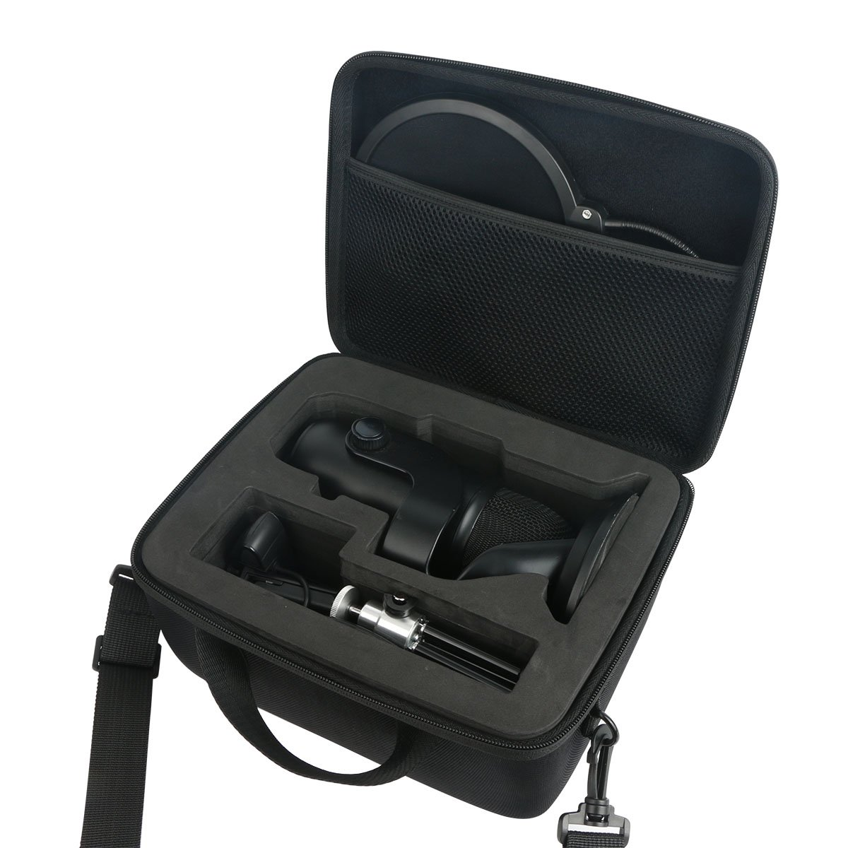 khanka Carrying Bag for Blue Yeti USB Microphone by khanka