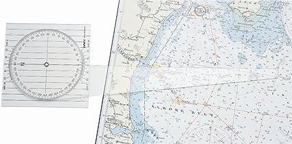 Linex 100413017 nautischer Your Design, curso Tarjetas de regla de navegación en el mar: Amazon.es: Oficina y papelería