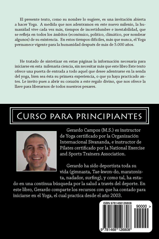 Haga Yoga: Curso para principiantes (Spanish Edition): Mr ...