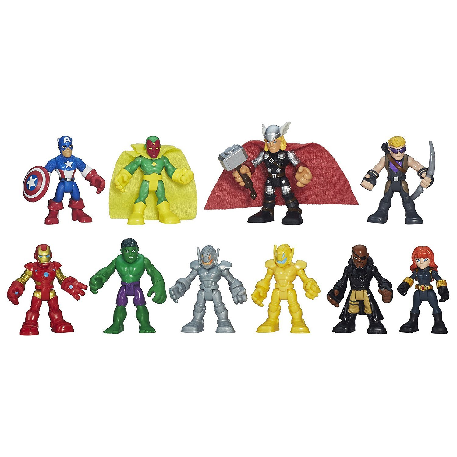 Heroes Marvel Super Hero Adventures Ultimate Super Hero Set, 10 Figures, Ages 3-7 (Amazon Exclusive) (Limited edition)