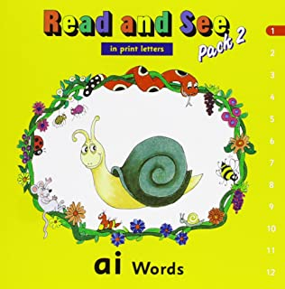 Jolly Phonics Read and See Pack 1 (in Print Letters): Sara Wernham ...