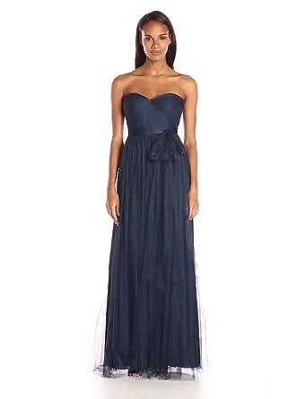 7b4420f95c Jenny Yoo Women s Annabelle Convertible Tulle Column Dress at Amazon ...