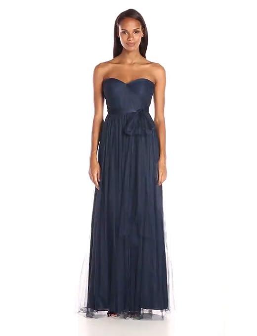 e73c3c5d409 Jenny Yoo Women s Annabelle Convertible Tulle Column Dress at Amazon  Women s Clothing store