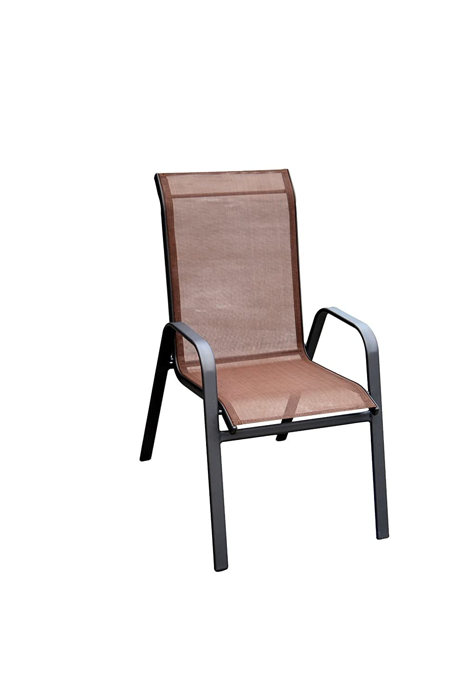 Marvelous Amazon.com: DC America 372139 DB4PK 4 Pack Fantasy Sling Chair, Dark Brown:  Garden U0026 Outdoor