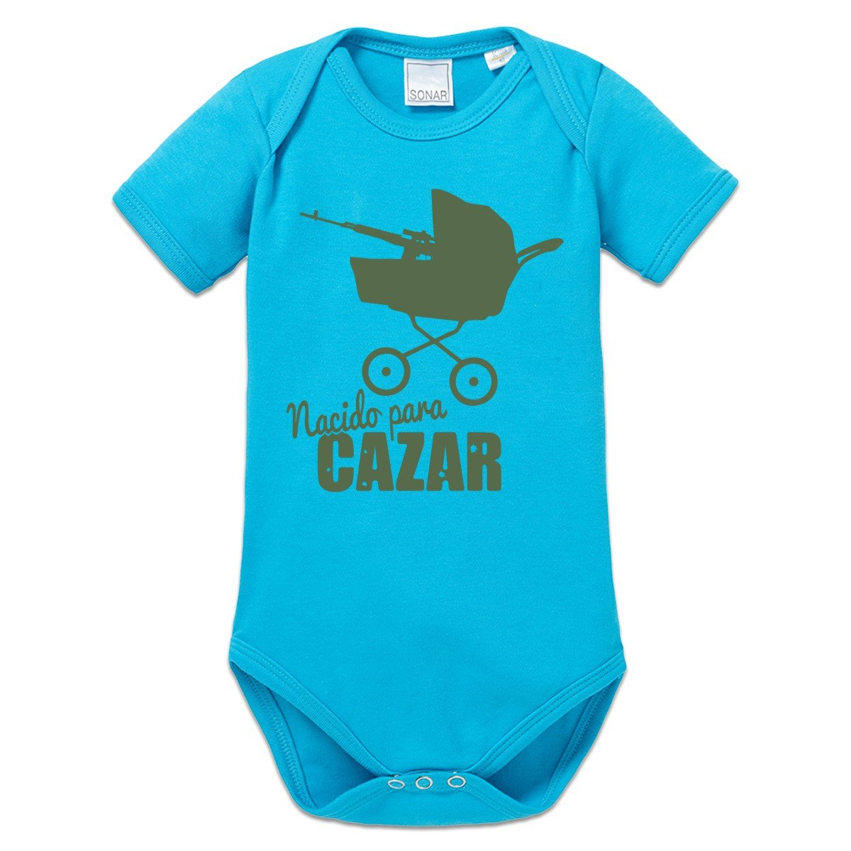 Body bebé Nacido para cazar by Shirtcity: Amazon.es: Ropa y ...