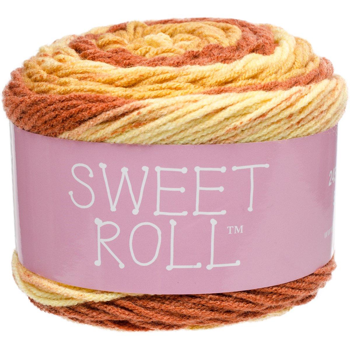 Premier Yarns 1047-41 Taffy Pop Sweet Roll Yarn, Multicolor