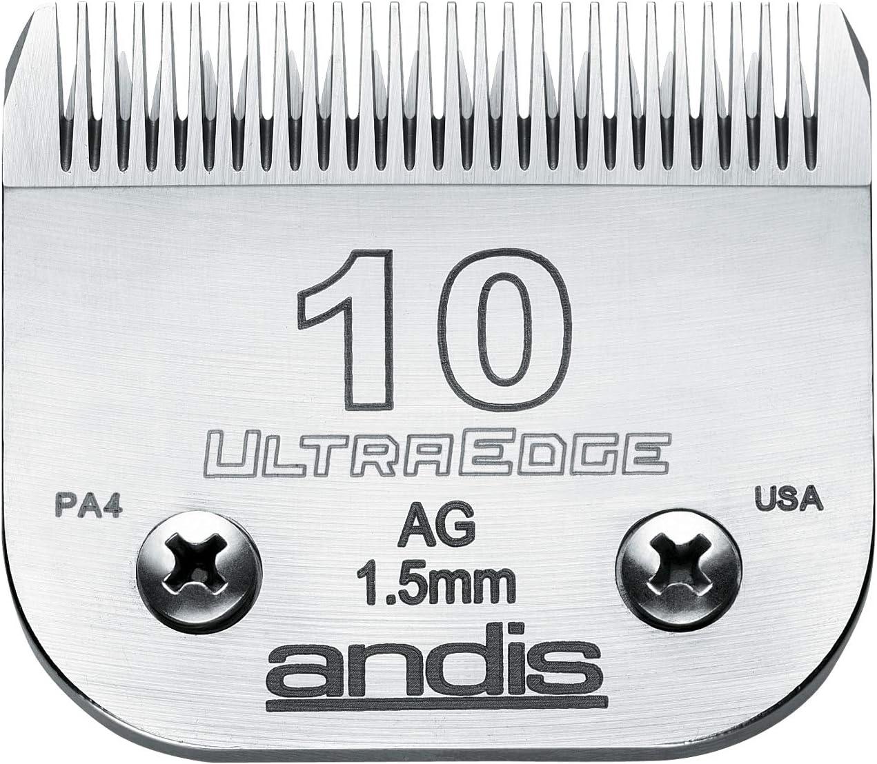Andis Ultra Edge Blade 10 1.5 mm - Juego de Cuchillas cortapelos