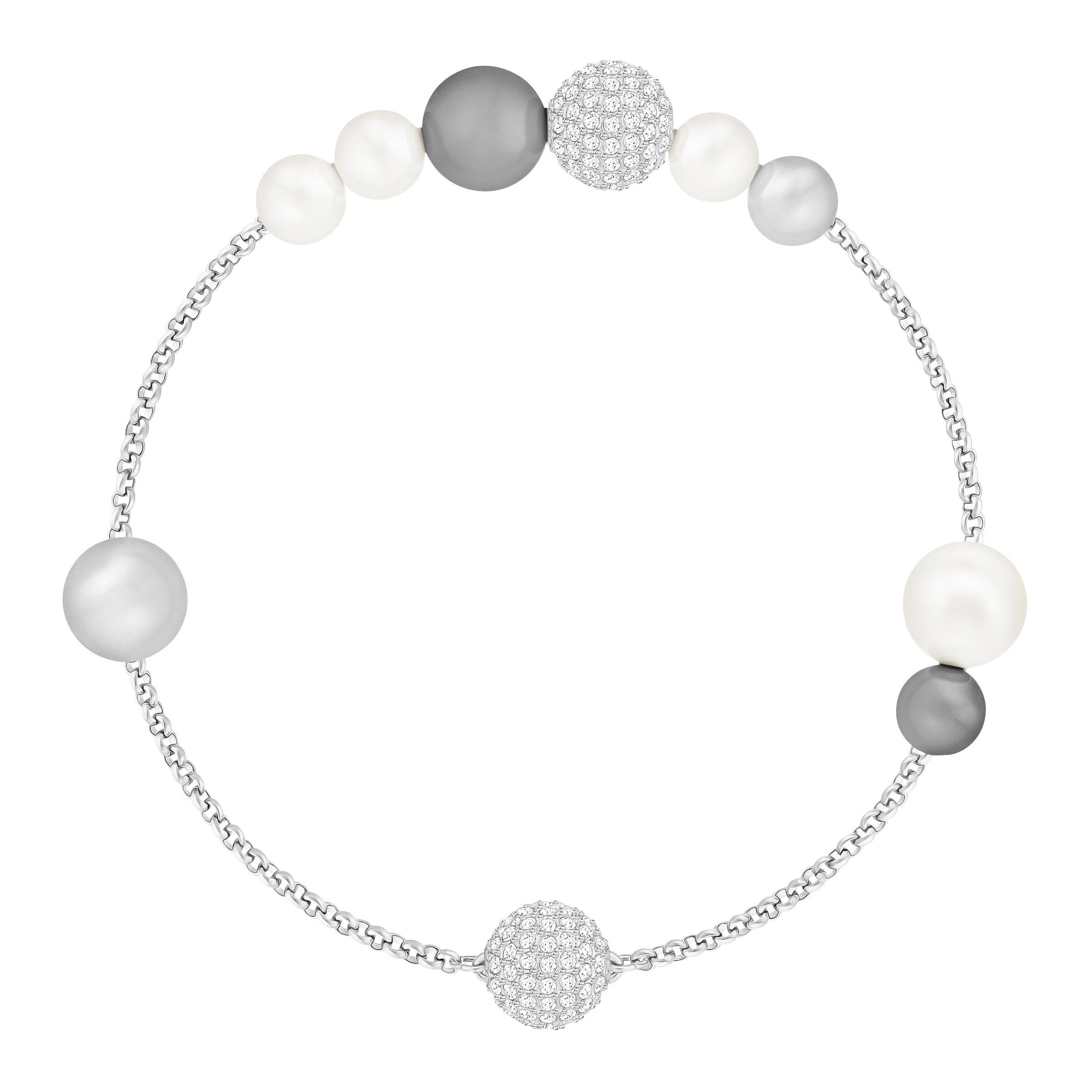 Remix Forever Strand Bracelet with Sparkling White Crystals