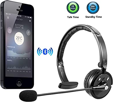 Amazon Com Luxmo Bluetooth Headset Trucker Wireless Headset With Microphone Rechargeable Noise Cancellation Clear Sound Office Wireless Headphone For Iphone Android Cell Phone Skype Truck Driver Call Center Home Audio Theater