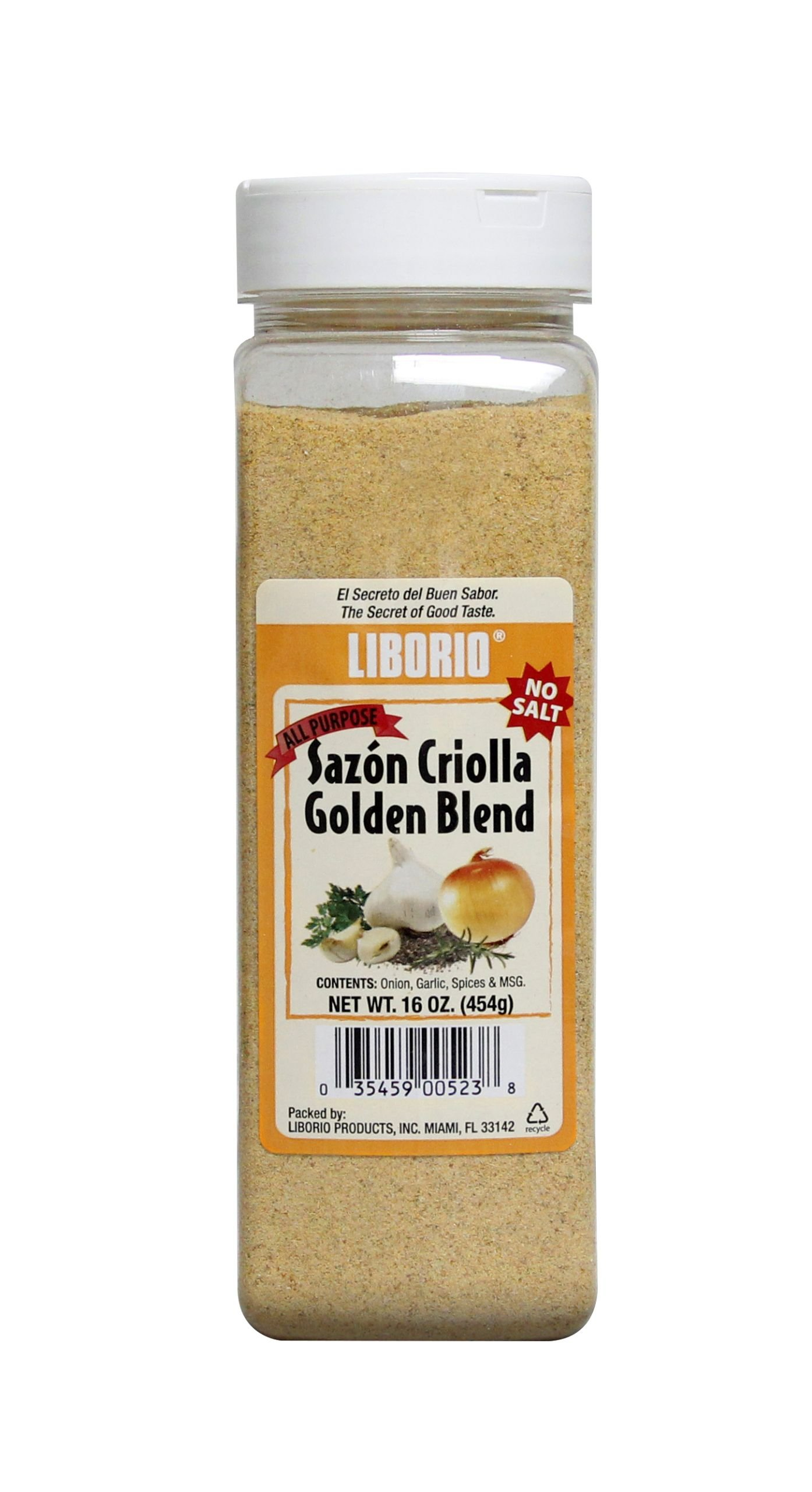 Liborio Sazón Gold All Purpose Seasoning, 16oz