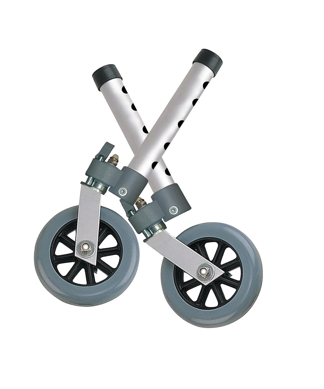 Juego de 2 ruedas giratorias para andador: Amazon.es: Juguetes y ...