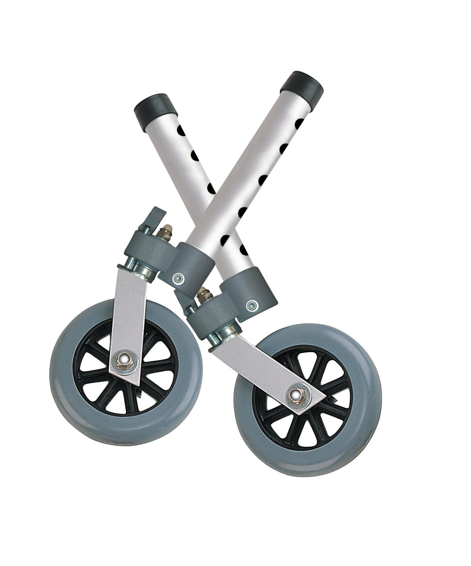 Drive Medical Swivel Lock 5'' Walker Wheels by Drive Medical