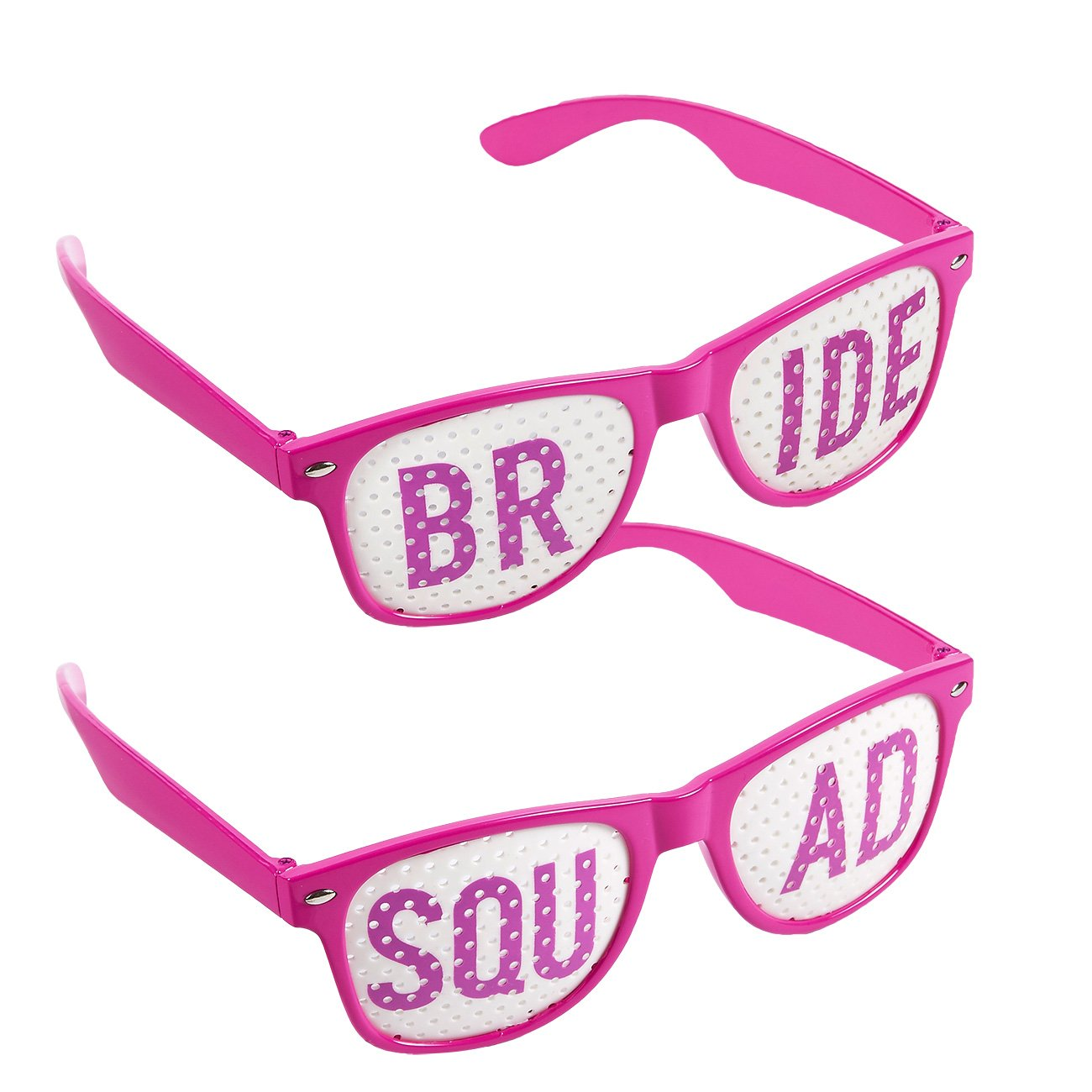 Amazon.com: Blue Panda Bachelorette Party Sunglasses – 6-Pack of ...