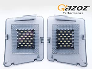 GAZOZ PERFORMANCE Trunk Boot LED Lights Tail Gate for 12-17 Mazda CX 5 CX5 - Storage Compartment