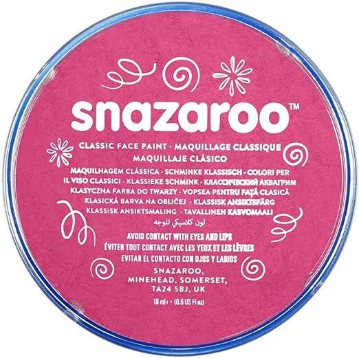 Snazaroo - Pintura facial y corporal, 18 ml, color rosa fucsia: Amazon.es: Juguetes y juegos