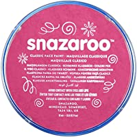 Snazaroo Face Paint 18 ml color individual, Rosa fucsia, M, 1
