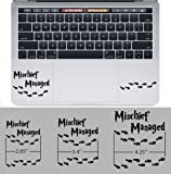Harry Potter Mischief Managed Trackpad Keyboard Apple Macbook Decal Vinyl Sticker Apple Mac Air Pro Retina Laptop sticker