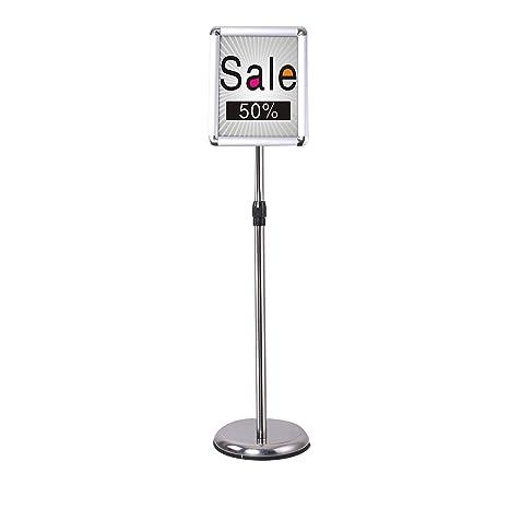 Amazon.com: SC-Ajustable Pedestal Póster Soporte Aluminio ...