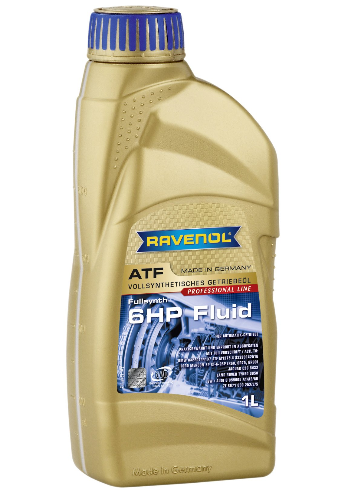 RAVENOL J1D2110 ATF (Automatic Transmission Fluid) - 6HP Fluid for ZF 6HP Transmissions (1 Liter)