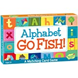 Peaceable Kingdom Alphabet Go Fish Letter Matching Card Game - 52 Cards with Box