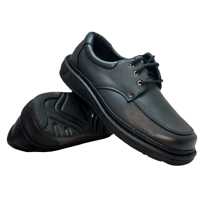 Rocus Men's Oxford Dress Comfort Everyday Walking Lace-up Shoe