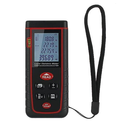 147 opinioni per Proster Distanziometro Laser Digitale Misuratore Distanza Telemetro con Livella
