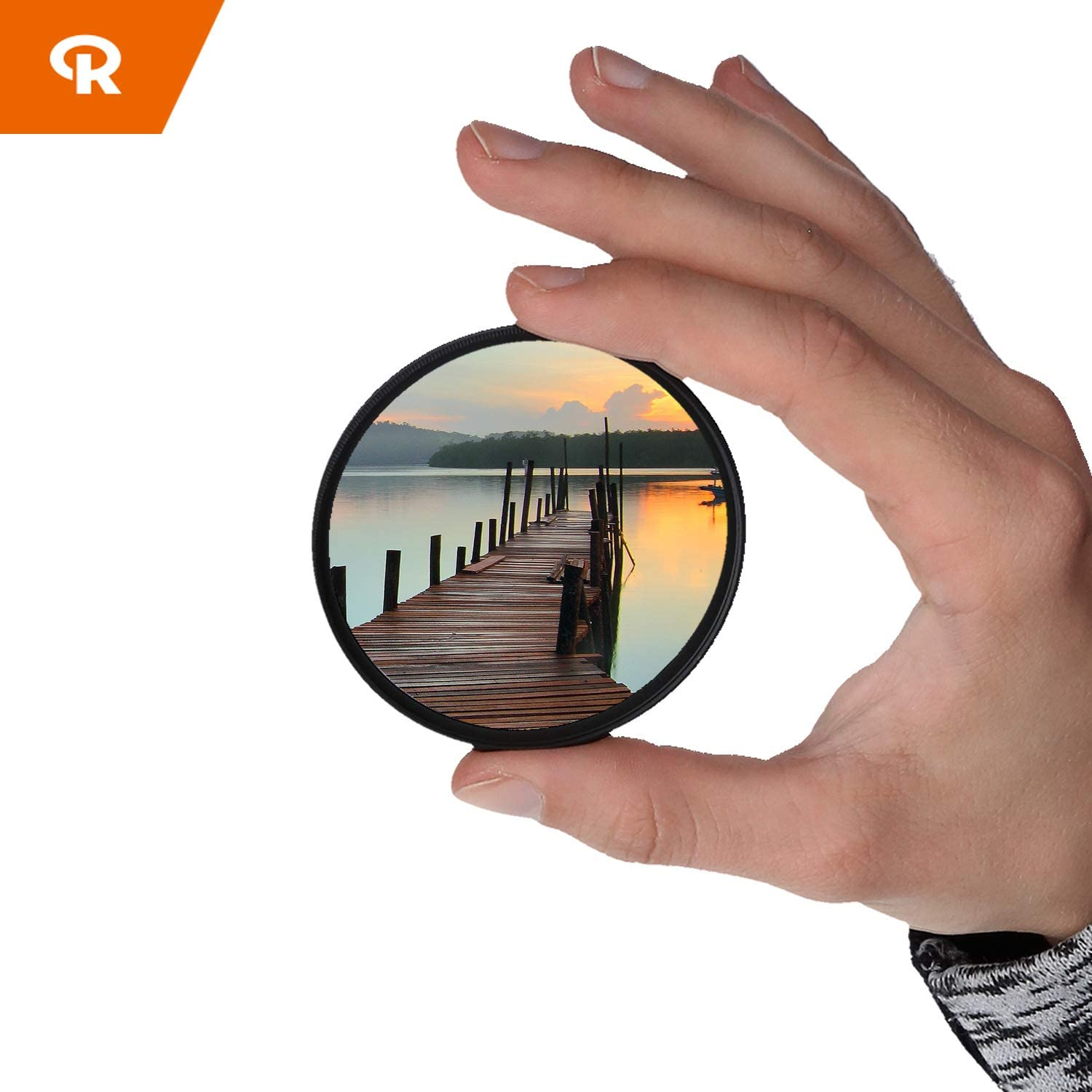 Ultra Slim UV Filter 28 Layer Multi Row Coated Ultraviolet Protection Filter Rollei Saturn Corning L41 L41 49mm - Gorilla Glass Gorilla Glass UV Protection Lens Filter