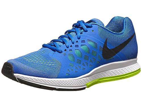 online store aca9d 27500 Nike Men s Zoom Pegasus 31 Running Shoe Hyper Cobalt Black Volt 10.5 D(M)  US  Buy Online at Low Prices in India - Amazon.in