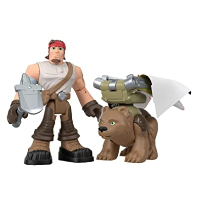 Fisher-Price Rescue Heroes Beau Hemian & Dakota Figure Set: Toys & Games
