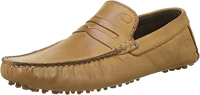 TALLA 40 EU. Base London Morgan, Mocasines para Hombre