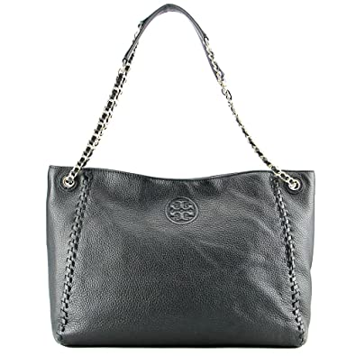 7c34bf98ea02 ... ireland tory burch marion slouchy shoulder tote black leather bag cca47  3eb90