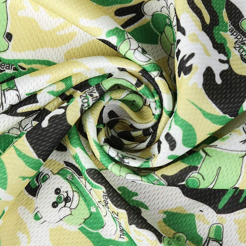 Danigrefinb Fashion Camouflage Sommer Outdoor Fitness Gym Cool Mikrofaser Sport Handtuch Heatstroke Prevention