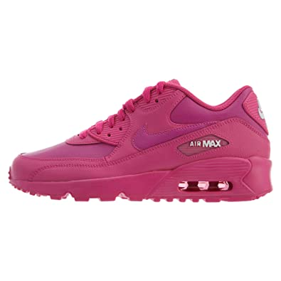 los angeles 713aa 19ac1 Nike Air Max 90 LTR (GS), Chaussures d Athlétisme Femme, Multicolore