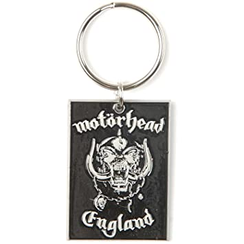 Motorhead - Keyring England (in One Size): Amazon.es: Coche ...