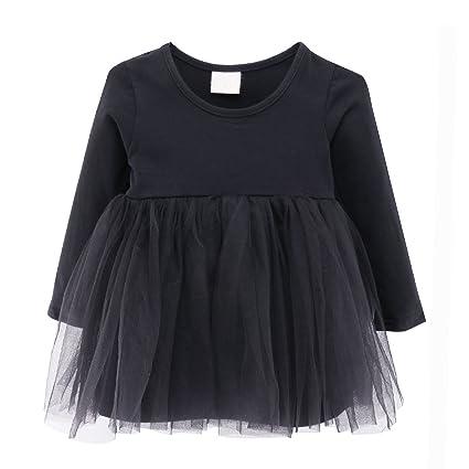 60036a509144f ガールズワンピース 女の子 長袖チュールスカート キッズドレス 子供服 プリンセススカート (98cm