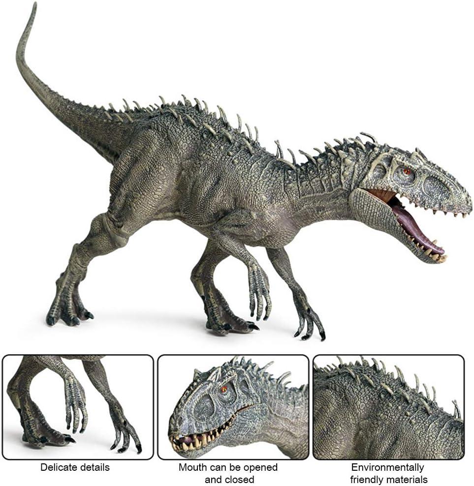 pl/ástico Dinosaurio de Juguete Figuras de acci/ón Boca Abierta Dinosaurio Mundo Animales Modelo Chico Juguete Regalo BSTQC Indominus Rex Jurassic World