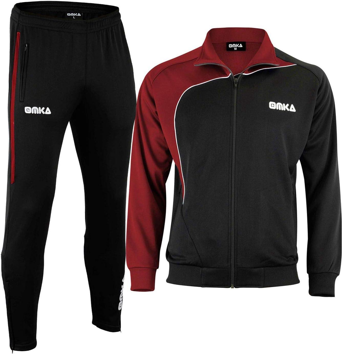 OMKA Trainingsanzug Sportanzug Jogginganzug Freizeitanzug