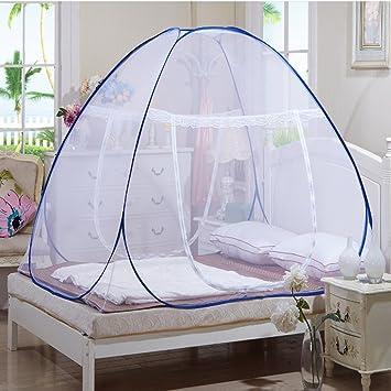 Schiebetür Xliking Erwachsener Faltbar Reißverschluss Reise Für Schlafsack  Zelt Mücken Himmelbett Bett Netto
