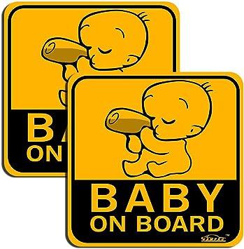 Kind an Bord Magnetschild Schild magnetisch