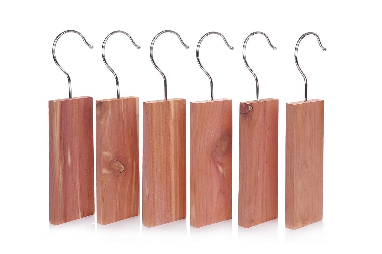 Pristine Premium Bloques Colgantes para armarios de Madera de Cedro Repelente de polillas