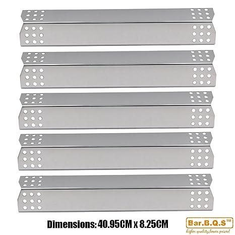 bar. b.q.s 97451 (5 unidades) placas de calor de acero ...