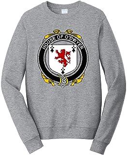Small Charcoal Tenacitee Boys Youth Irish House Heraldry Doyle T-Shirt