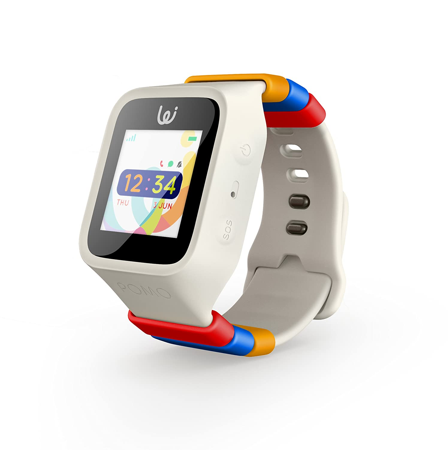 iGPS Wizard Smart Watch for Kids with a Three UK SIM Card - Live GPS  Tracking - Cellular Voice & Text - Water Resistant - SOS, Danger Zone &  Device