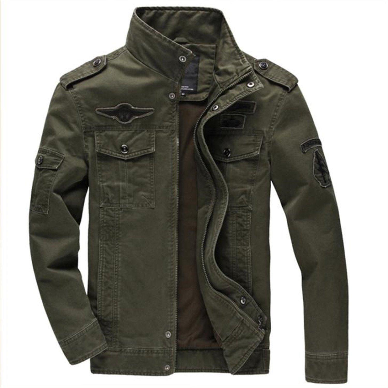 MRstriver Jacket German Army Classic Parka Military Combat Mens Jacket Mens Army Combat Uniform Coat Chaqueta Hombre at Amazon Mens Clothing store: