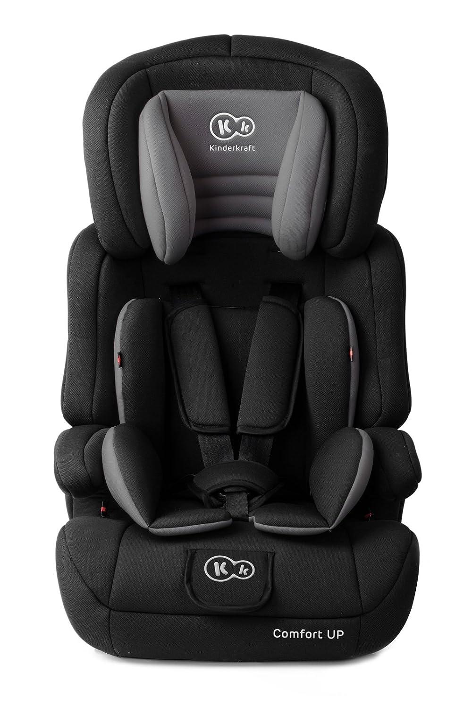 Kinderkraft Comfort UP, Silla de coche grupo 1/2/3, rosa 5902021219650