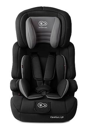 Kinderkraft Comfort UP, Silla de coche grupo 1/2/3, negro: Amazon.es: Bebé