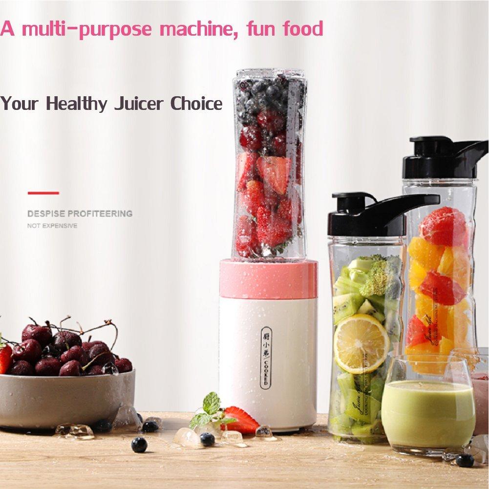 DULPLAY Smoothie maker, Licuadora personal, Licuado de frutas eléctrico, (20, 000 RPM), Para batidos smoothies Abs Portátil Bpa liberan Tritan 2 botella de ...