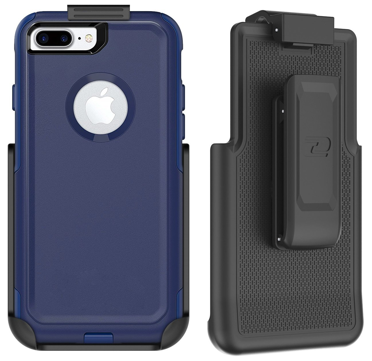 size 40 df27f 11621 Encased Belt Clip Holster for Otterbox Commuter Series Case - iPhone 7 Plus  5.5